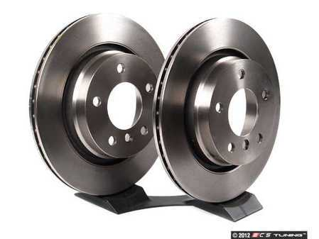 ES#10552 - 165563 - Rear Brake Rotors - Pair (294x19) - From a leader in braking technology. - Brembo -