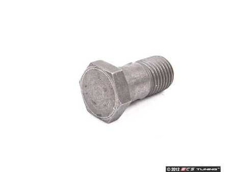 ES#437075 - 8E0422529 - Power Steering Banjo Bolt - Connects the pressure line to the power steering rack. M14x1.5 - Genuine Volkswagen Audi - Audi Volkswagen