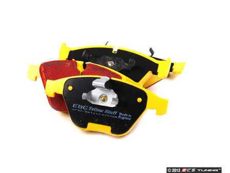 ES#2153467 - DP42006R - Front Yellowstuff Ultra High Friction Pad Set - A race quailty pad that can be used at the track and back home again. - EBC - BMW