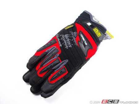 ES#518017 - MP202010 - M-Pact 2 Glove - Red - Large. Professional grade gloves for the hard working DIY customer. - Mechanix Wear - Audi BMW Volkswagen Mercedes Benz MINI Porsche