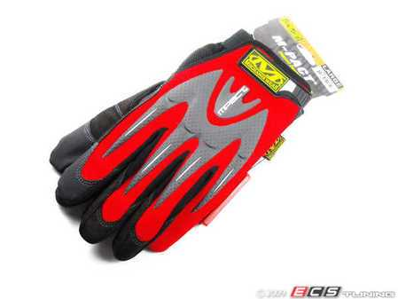 ES#518014 - mmp02010 - M-Pact Glove - Red - Large. Protect your hands in even the most harshest conditions. - Mechanix Wear - Audi BMW Volkswagen Mercedes Benz MINI Porsche