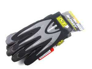 ES#518007 - MMP05009 - M-Pact Glove - Black - Medium. Protect your hands in even the most harshest conditions. - Mechanix Wear - Audi BMW Volkswagen Mercedes Benz MINI Porsche