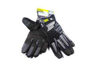 ES#518010 - MP205009 - M-Pact 2 Glove - Black - Medium. Professional grade gloves for the hard working DIY customer. - Mechanix Wear - Audi BMW Volkswagen Mercedes Benz MINI Porsche