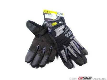 ES#518010 - MP205009 - M-Pact 2 Glove - Black - Medium. Professional grade gloves for the hard working DIY customer. - Mechanix Wear - Audi BMW Volkswagen Mercedes Benz MINI Porsche