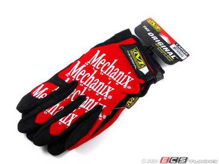 ES#518011 - mg02010 - Original Glove - Red - Large. Protect your hands while staying comfortable. - Mechanix Wear - Audi BMW Volkswagen Mercedes Benz MINI Porsche