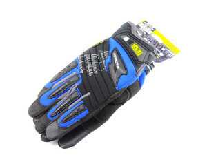 ES#518018 - MP203010 - M-Pact 2 Glove - Blue - Large. Professional grade gloves for the hard working DIY customer. - Mechanix Wear - Audi BMW Volkswagen Mercedes Benz MINI Porsche