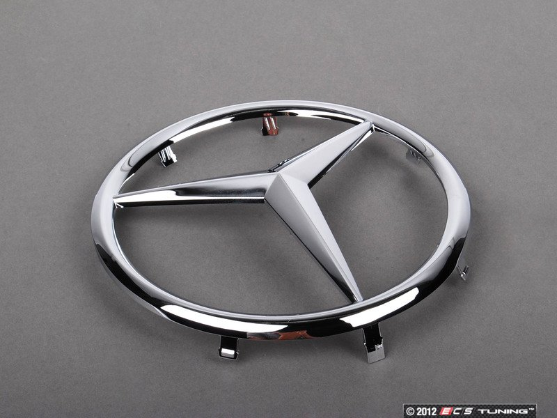 Genuine mercedes benz 2308880086 mercedes benz star emblem for Mercedes benz star logo