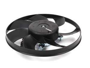 ES#2570063 - 1K0959455ET - Auxiliary Fan Assembly - 295mm - Smaller of the two fans found behind the radiator - Meyle - Audi Volkswagen