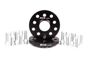 ES#2568232 - ECS10157KTWBC -  ECS Wheel Spacer & Bolt Kit - 15mm With Conical Seat Bolts - Includes everything you need to install spacers on two wheels - ECS - Audi Volkswagen
