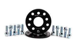 ES#2568231 - ECS10612KTWBC -  ECS Wheel Spacer & Bolt Kit - 8mm With Conical Seat Bolts - Includes everything you need to install spacers on two wheels - ECS - Audi Volkswagen