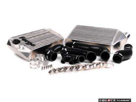 ES#2550261 - FMINT996BLK - Intercooler Upgrade Kit With Black Silicone Hoses - Cooler charge air equals bigger horsepower - Forge - Porsche