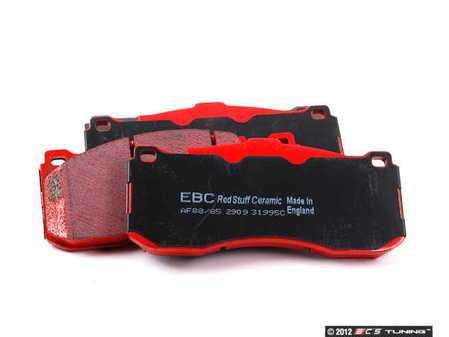 ES#2070774 - DP31995C - Front RedStuff Performance Brake Pad Set - A high performance street pad, featuring Kevlar technology - EBC - BMW MINI