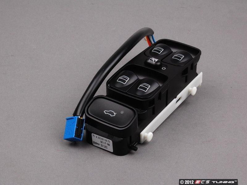 Genuine mercedes benz 20382106799116 power window for Mercedes benz window switch