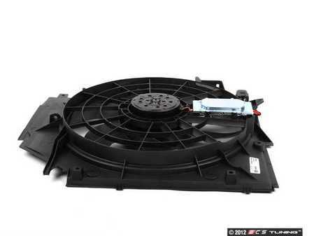 ES#2568885 - 17117561757 - Auxiliary Puller Fan Assembly  - Cooling fan mounted behind the radiator - Mahle-Behr - BMW
