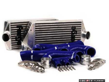 ES#2550260 - FMINT996BLUE - Intercooler Upgrade Kit With Blue Silicone Hoses - Cooler charge air equals bigger horsepower - Forge - Porsche