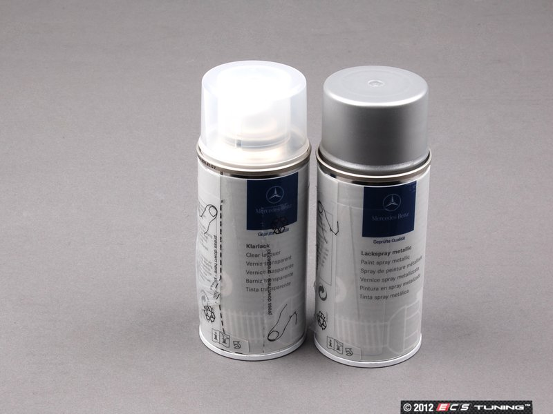 Mercedes benz touch up paint brilliant silver metallic for Mercedes benz touch up paint