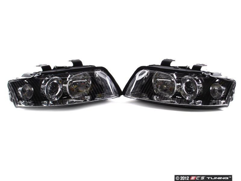 ECS News - Audi B6 A4 1.8T Chrome Xenon Headlight Set