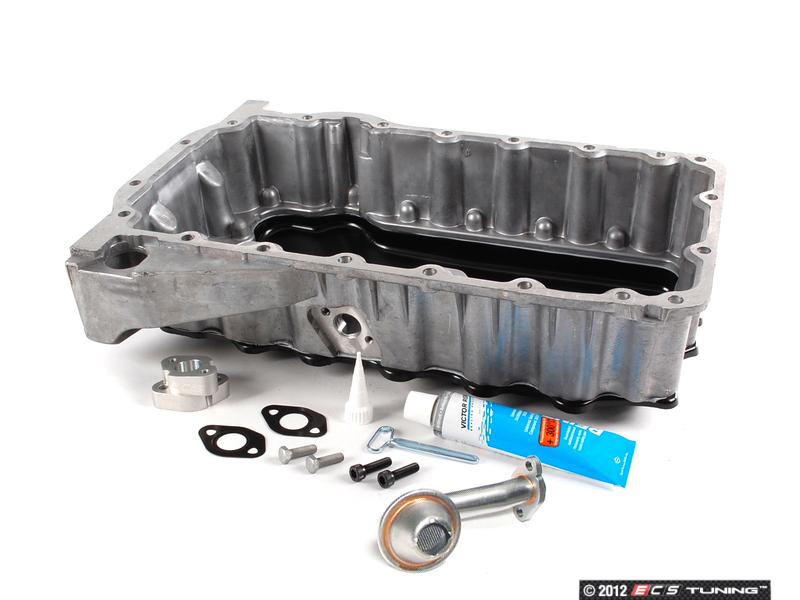 ecs news ecs hybrid oil pan  vw  engines