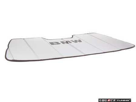 ES#195578 - 82111467109 - UV Sunshade - Used to keep the summer sun from overheating your 3-Series interior. - Genuine BMW - BMW