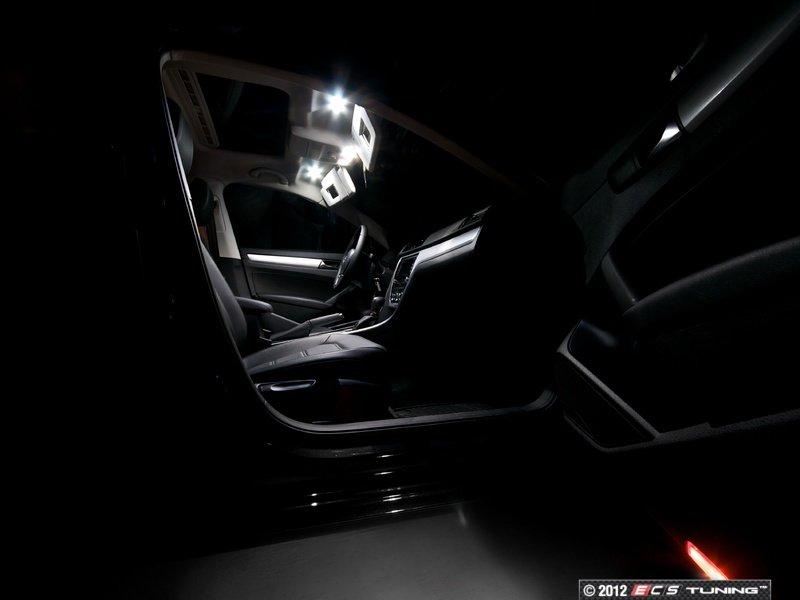 Vanity Mirror Light Kit : ZiZa - PSB7INTLEDKT6 - LED Vanity Mirror Lighting Kit