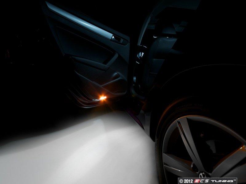 Ecs news volkswagen b7 passat led interior lighting kit for 2012 mustang interior lights