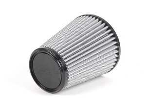 """ES#518388 - 21-40507 - Universal Pro Dry S Air Filter - White - Replacement filter with 4""""inlet, 6""""base, 4""""top, and 7""""height - AFE - Volkswagen"""