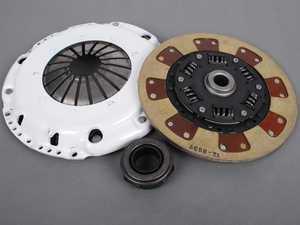 ES#2830660 - 17036HDTZ - Volkswagen Corrado Heavy duty pressure plate. Sprung hub segmented Kevlar disc. - ECS Stage 3 Clutch Kit/FX300, 228mm VR6 Style - Clutch Masters -