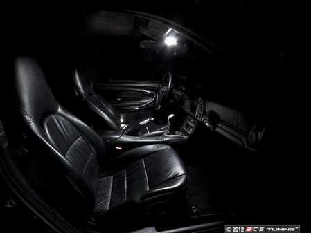 ES#2575601 - 996LEDFULLKT1 - Master LED Interior Lighting Kit - Without Footwell Lighting Or Glove Box Light - Transform your complete interior in minutes with new LED interior bulbs from Ziza - ZiZa - Porsche
