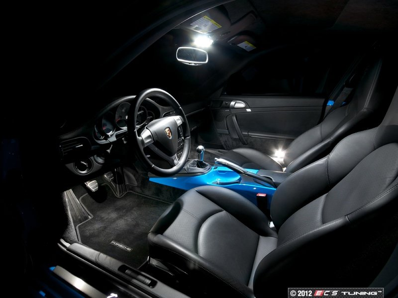 Ecs News Porsche 997 Ziza Interior Led Lighting Kits