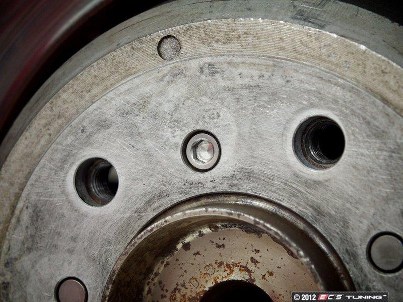 Stainless Brake Rotors : Ecs a stainless brake rotor set screw