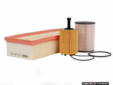 ES#2576179 - 1K0127434BMAKT - MANN Filter Maintenance Kit - 3 Piece - Includes air, fuel & oil filters. - Assembled By ECS - Volkswagen