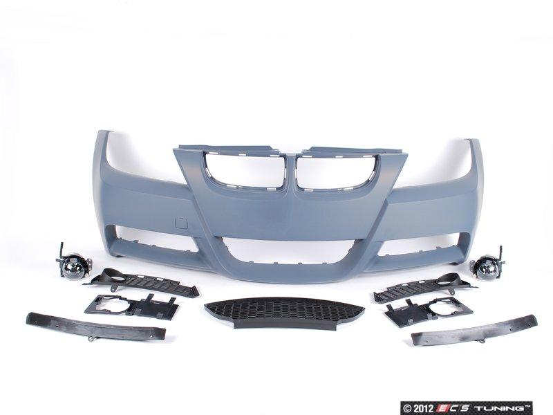bmw 320i front bumper parts schematic
