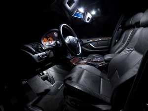 ES#2580290 - E53LEDINTKT - Master LED Interior Lighting Kit - Transform your complete interior in minutes with new LED interior bulbs from Ziza. For vehicles without panoramic roof. - ZiZa - BMW