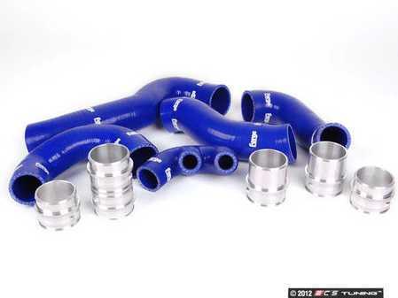 ES#2550552 - FMKT996BLUE - Blue Silicone Boost Hose Kit - Don't let rubber hoses hold you back from performance you deserve - Forge - Porsche