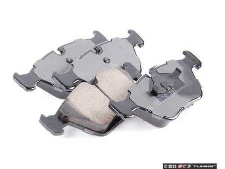 ES#205229 - eur394 - Front Euro Ceramic Brake Pad Set - Offers excellent pedal feedback, low dust, and smooth initial bite. A favorite among BMW enthusiasts. - Akebono - BMW