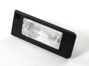 ES#5414 - 8N0943022A - License Plate Light Assembly - Right Side - Complete assembly with bulb - Genuine Volkswagen Audi - Audi