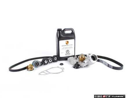ES#2574807 - 94410532302KT4 - ECS Ultimate Timing Belt Kit With Water Pump - Everything you need to perform a complete timing belt service on your 944 S2 - Assembled By ECS - Porsche