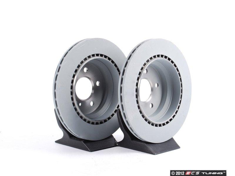Genuine mercedes benz 2114230912set rear brake rotors for Mercedes benz rotors