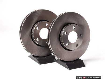 ES#2574615 - 8E0615301QKT5 - Front Brake Rotors - Pair (288x25) - Restore the stopping power in your vehicle - Balo - Audi Volkswagen