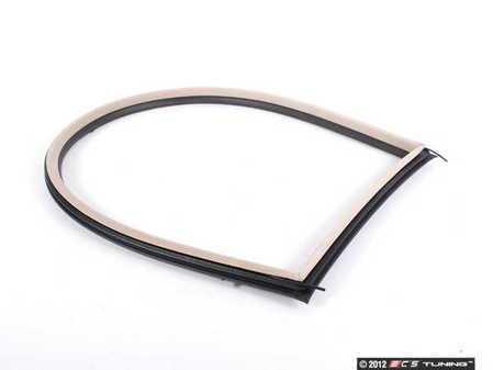 ES#96050 - 51368252623 - Vent Window Inner Gasket Seal - Beige - Fits both left and right sides - Genuine BMW - BMW