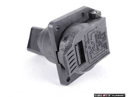 ES#3574734 - 020545402664 - Trailer Hitch Plug Socket - Socket that connects the trailer wiring to your vehicles wiring - Genuine Mercedes Benz - Mercedes Benz