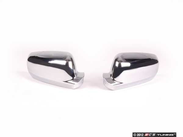 ES#2561501 - 3593CHEN10090-1 - Mirror Cap Set - Chrome - Stand out in the crowd with chrome mirror caps from ECS Tuning - Bremmen Parts - Volkswagen