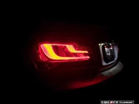 ES#2550272 - 63212225282 - Black Line LED Tail Light Set - Includes both rear lights - from the European 1 Series LCI. - Genuine European BMW - BMW