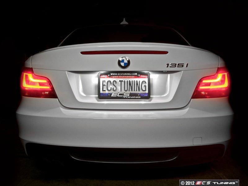 Genuine European BMW - 63212225282 - Black Line LED Tail Light Set ...