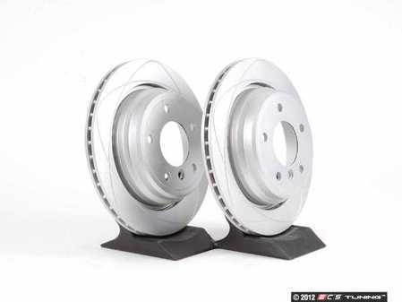 ES#10420 - 34211163153ktATE - Rear Brake Rotors - Pair (298x20) - Restore braking power. - ATE -
