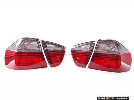 """ES#9942 - 63210406678 - Smoked Blackline Tail Light Kit - Upgrade the tail lights of your BMW with this """"blackline"""" taillight kit - Genuine BMW - BMW"""