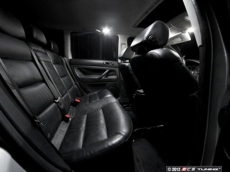 Ecs news vw b5 passat ziza led interior lights for Volkswagen passat 2000 interior