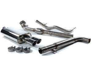"ES#3136894 - fpim-0241KT - Turbo-Back Exhaust System - Fully polished 2.5"" system - Billy Boat Performance - Volkswagen"