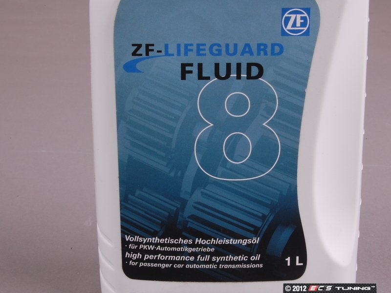 Zf G060162a2 Lifeguard 8 Automatic Transmission Fluid 1 Liter Green