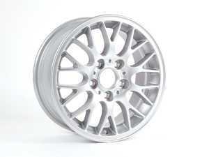 "ES#64401 - 36111095058 - 16"" Cross Spoke Style 42 Wheel - Priced Each - 16x7 ET 46 72.6 CB - Genuine BMW - BMW"